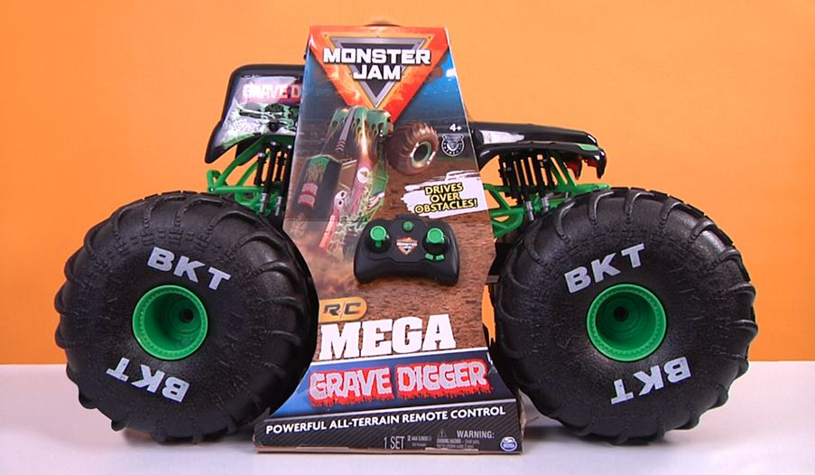 Monster Jam Mega Grave Digger All-Terrain RC Monster Truck Review