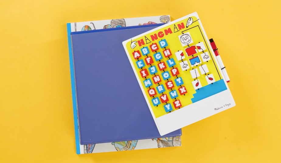 fill binder with notebook and worksheets