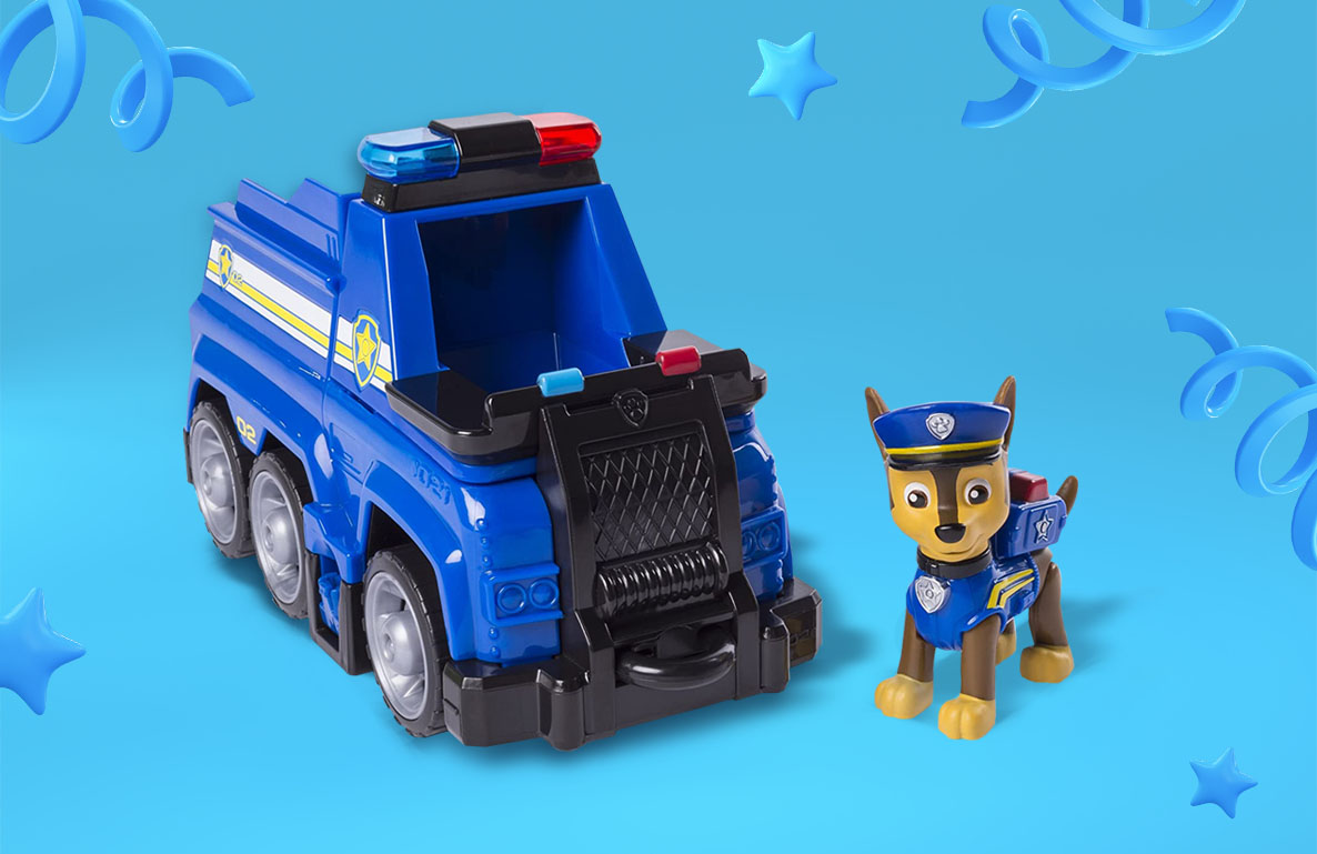 PAW Patrol Ultimate Rescue – Chase Police Cruiser