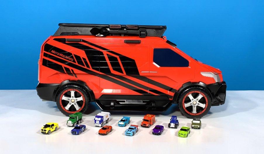 Micro Machines Super Van City Transforming Playset Review