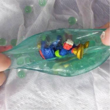 alien gut sack reveals surprise toys