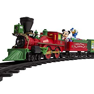 Christmas trains image