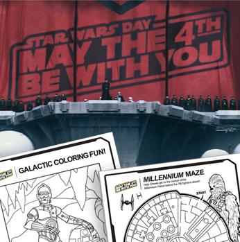 Star Wars activities image