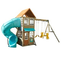 swing sets, slides & swings image