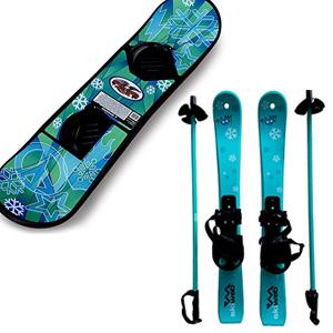 kids snowboards & skis image